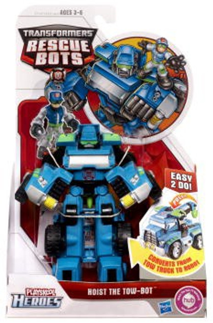 Transformers Playskool Heroes Rescue Bots Hoist The Tow-Bot Action Figure