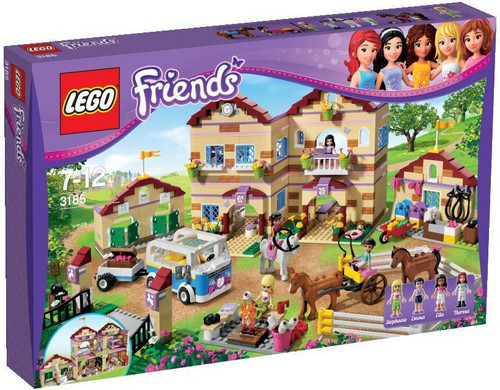 LEGO Friends Summer Riding Camp Exclusive Set #3185