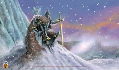 Card Supplies The Dark Lord of the Frozen Isle Play Mat