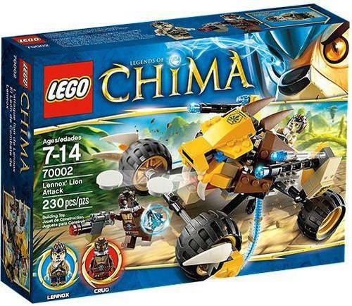 LEGO Legends of Chima Lennox's Lion Buggy Set #70002