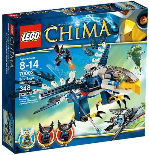 LEGO Legends of Chima Eris' Eagle Interceptor Set #70003