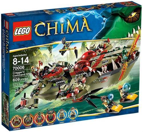 LEGO Legends of Chima Cragger's Command Ship Set #70006
