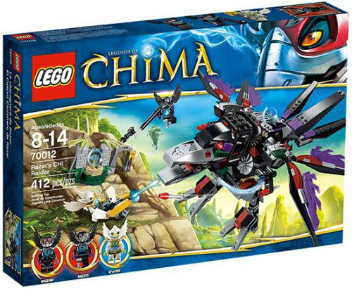 LEGO Legends of Chima Razar's CHI Raider Set #70012