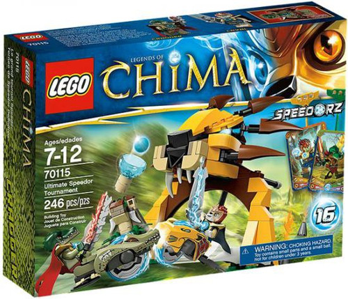 LEGO Legends of Chima Ultimate Speedor Tournament Set #70115