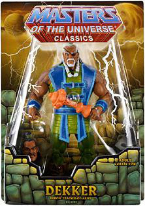 Masters of the Universe Classics Club Eternia Dekker Exclusive Action Figure