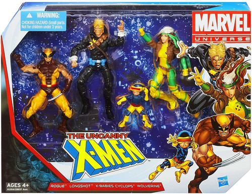 Marvel Universe Super Hero Team Packs The Uncanny X-Men Action Figure 4-Pack