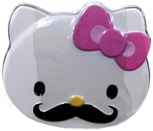 Hello Kitty Sweet Staches Candy Tin [Pink Bow]