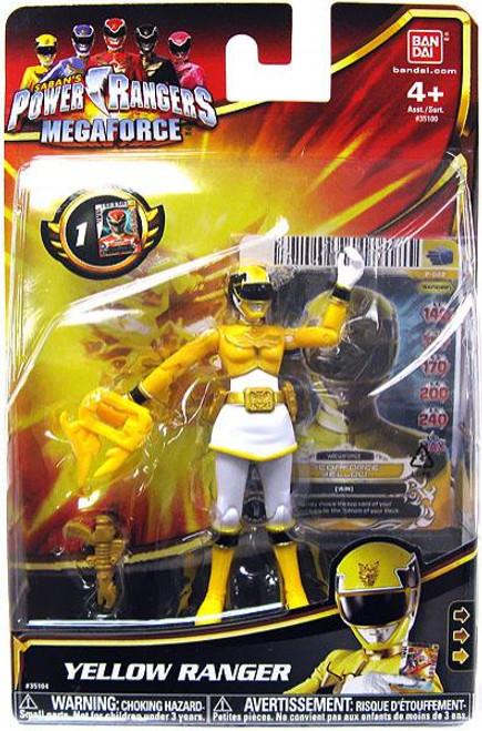 Power Rangers Megaforce Yellow Ranger Action Figure