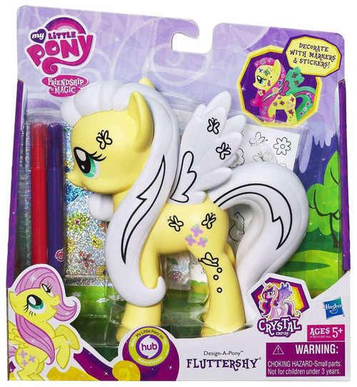 My Little Pony Friendship is Magic Crystal Empire Design a Pony Fluttershy Figure