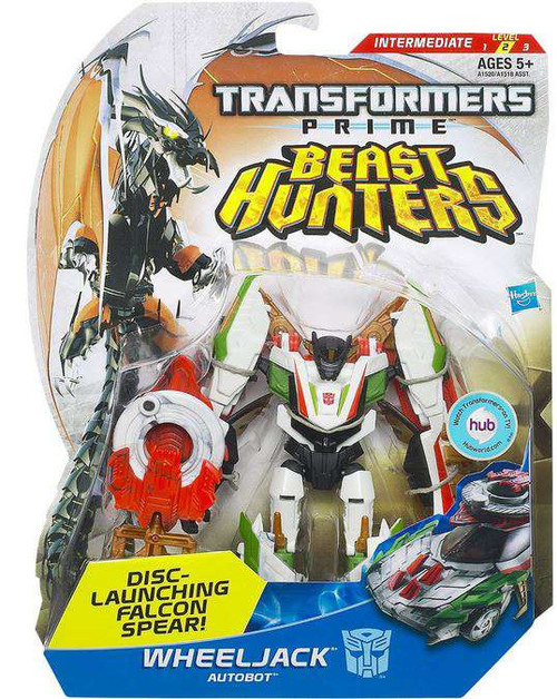 Transformers Prime Beast Hunters Wheeljack Deluxe Action Figure