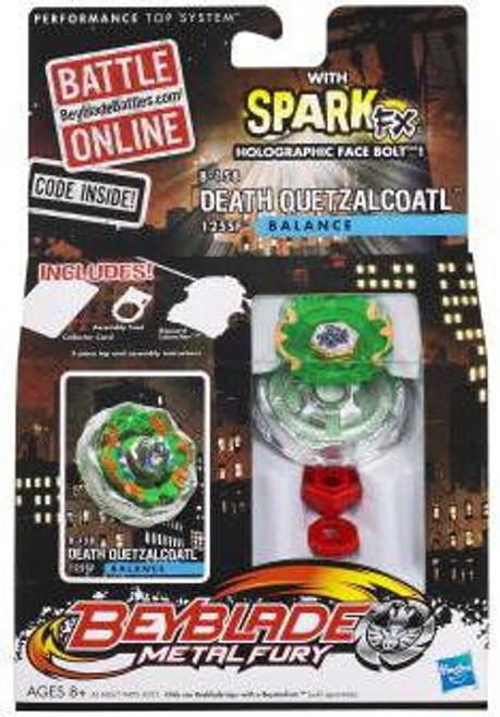 Beyblade Metal Fury Spark FX Death Quetzalcoatl Single Pack B-158