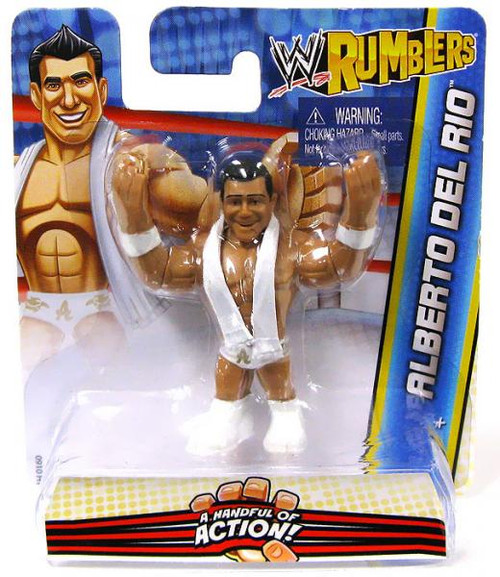 WWE Wrestling Rumblers Series 2 Alberto Del Rio Mini Figure