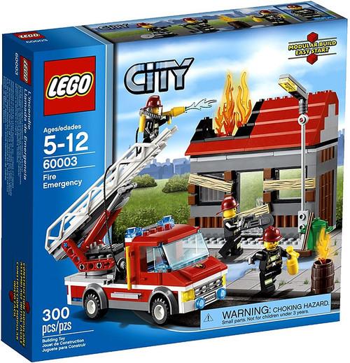 LEGO City Fire Emergency Set #60003