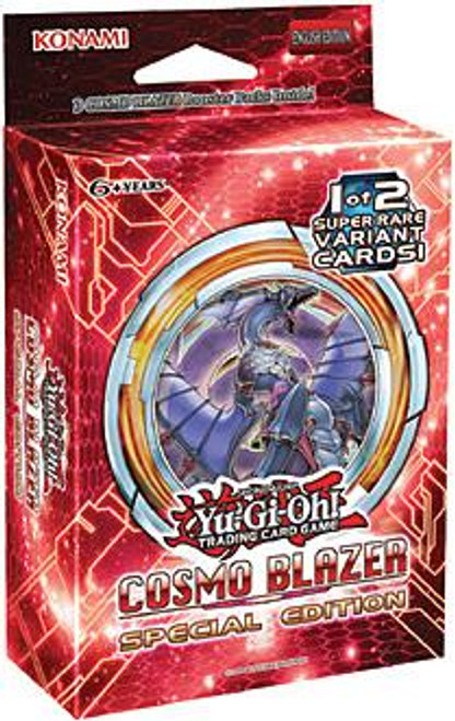 YuGiOh Trading Card Game Cosmo Blazer Special Edition [3 Booster Packs & Promo Card]