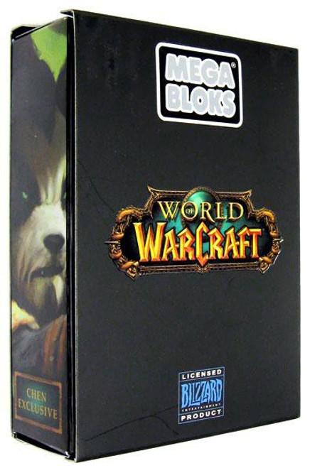 Mega Bloks World of Warcraft Jade Chen Stormstout Figure Exclusive Set