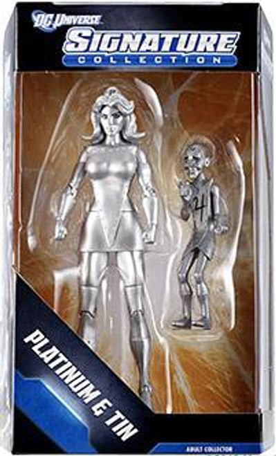 DC Universe Club Infinite Earths Signature Collection Platinum & Tin Exclusive Action Figure
