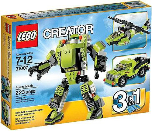 LEGO Creator Power Mech Set #31007