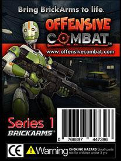 BrickArms Offensive Combat 2.5-Inch Weapons Pack [Black]