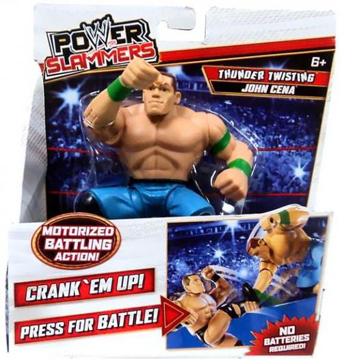 WWE Wrestling Power Slammers Thunder Twisting John Cena Action Figure