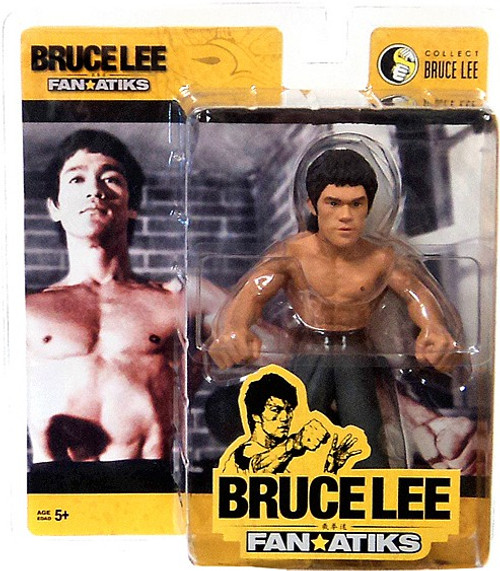 FanAtiks Series 3 Bruce Lee Action Figure [Enter the Dragon, Black Pants]