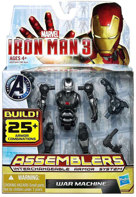 Iron Man 3 Assemblers War Machine Action Figure A2973