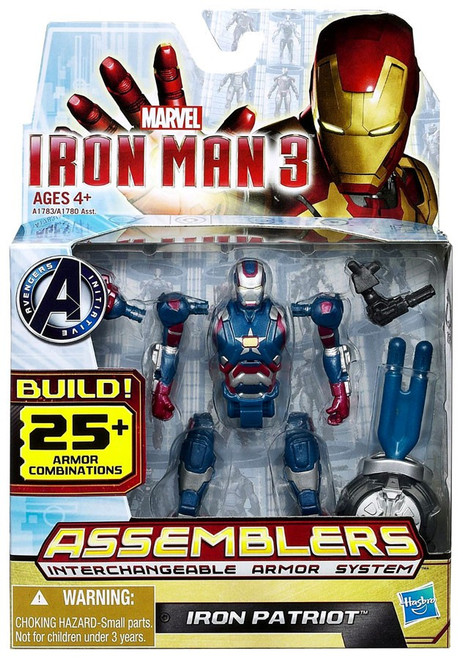 Iron Man 3 Assemblers Iron Patriot Action Figure