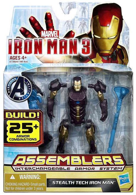 Iron Man 3 Assemblers Stealth Tech Iron Man Action Figure A1785