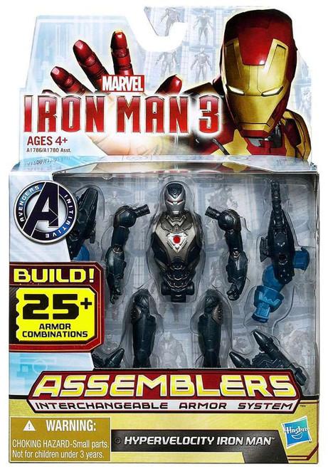 Iron Man 3 Assemblers Hypervelocity Iron Man Action Figure A1786