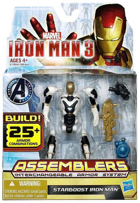 Iron Man 3 Assemblers Starboost Iron Man Action Figure A1782