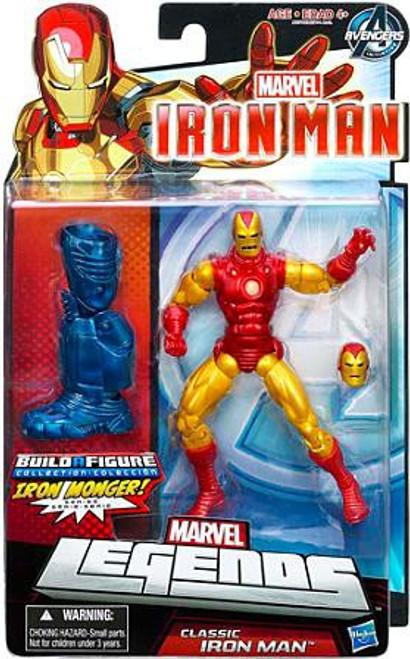 Marvel Legends Iron Monger Series Classic Iron Man Action Figure