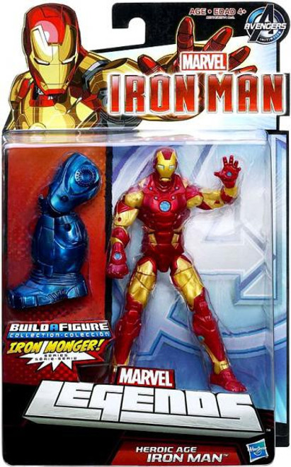 Marvel Legends Iron Monger Series Heroic Age Iron Man Action Figure [Bleeding Edge Armor]