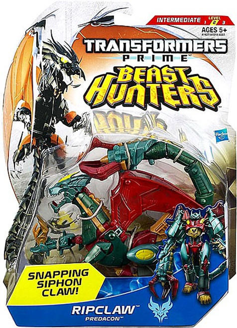 Transformers Prime Beast Hunters Ripclaw Deluxe Action Figure