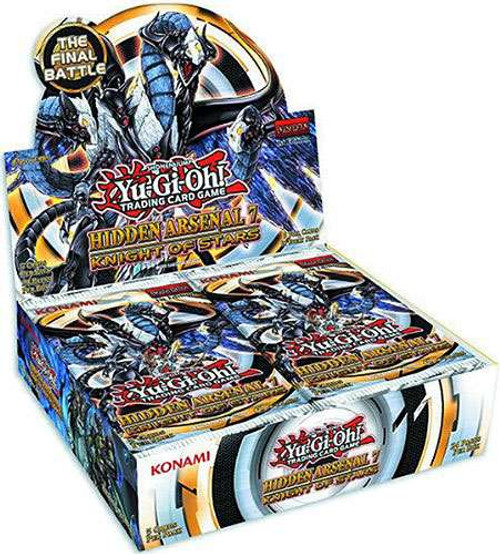 YuGiOh Trading Card Game Hidden Arsenal 7: Knight of Stars Booster Box [24 Packs]