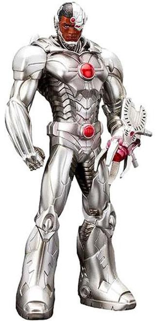 DC The New 52 ArtFX+ Cyborg 8-Inch Statue