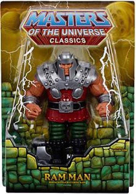 Masters of the Universe Classics Club Eternia Ram Man Exclusive Action Figure
