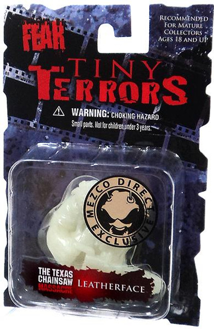 Nightmare on Elm Street Cinema of Fear Tiny Terrors Series 1 Leatherface Exclusive Mini Figure [Glow-in-the-Dark]