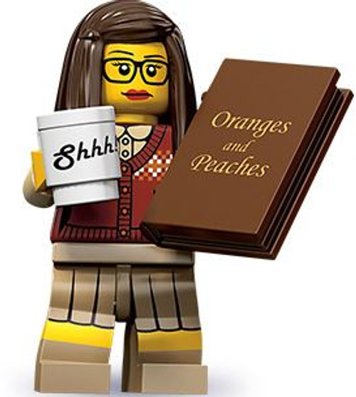 LEGO Minifigures Series 10 Librarian Minifigure [Loose]