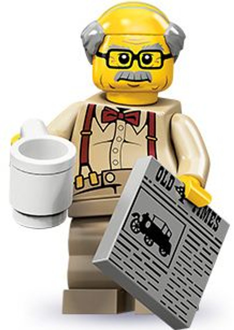 LEGO Minifigures Series 10 Grandpa Minifigure [Loose]