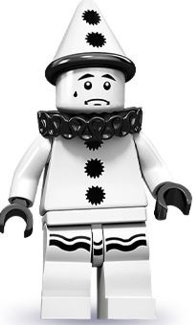 LEGO Minifigures Series 10 Sad Clown Minifigure [Loose]