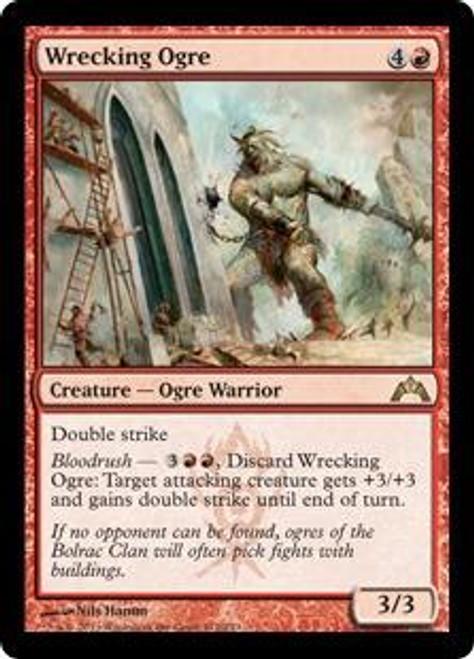 MtG Gatecrash Rare Wrecking Ogre #112