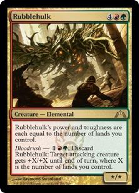 MtG Gatecrash Rare Rubblehulk #191