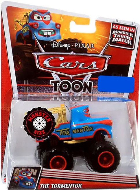 Disney / Pixar Cars Cars Toon Deluxe Oversized The Tormentor Exclusive Diecast Car