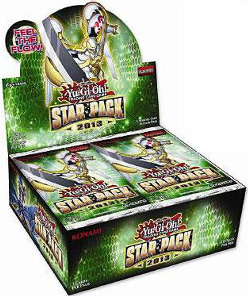 YuGiOh Trading Card Game Star Pack 2013 (Unlimited) Booster Box [50 Packs]