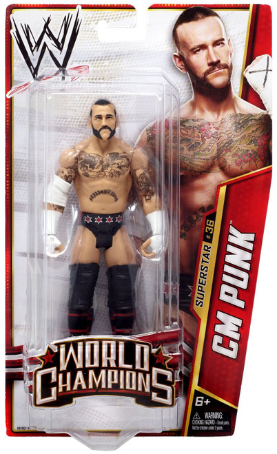 WWE Wrestling Series 29 CM Punk Action Figure #36