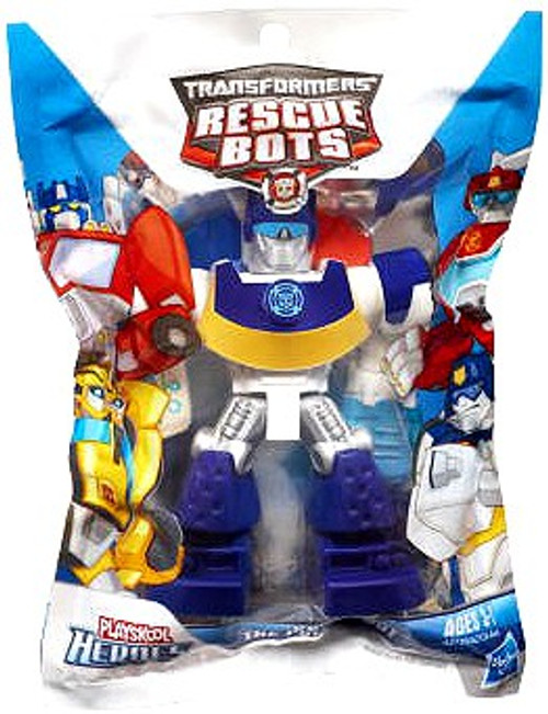 Transformers Playskool Heroes Rescue Bots Chase The Police-Bot Action Figure [Bagged]