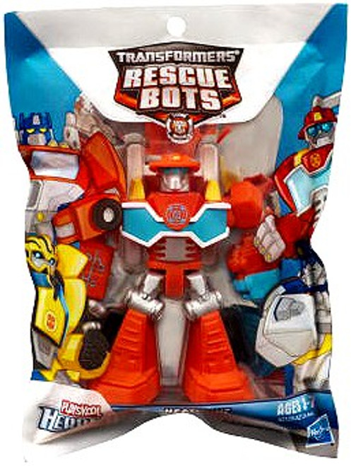 Transformers Playskool Heroes Rescue Bots Heatwave the Fire-Bot Action Figure [Bagged]