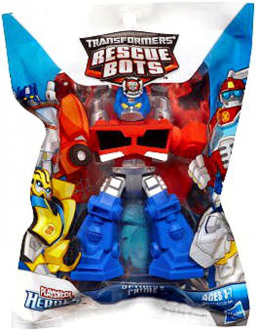 Transformers Playskool Heroes Rescue Bots Optimus Prime Action Figure [Bagged]
