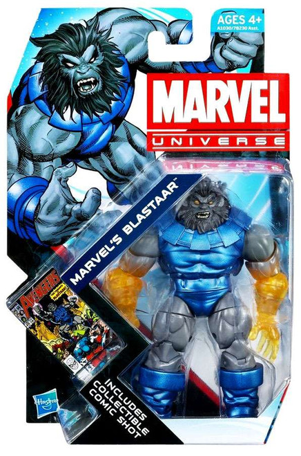 Marvel Universe Series 20 Blastaar Action Figure #24 [Clear Arms]