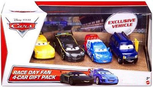 Disney / Pixar Cars Race Day Fan Exclusive 4-Car Gift Pack [Set #1]