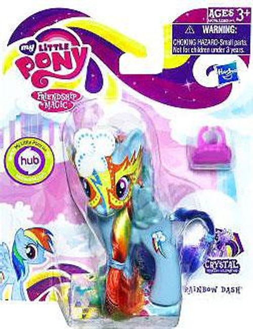 My Little Pony Friendship is Magic Crystal Empire Masquerade Rainbow Dash Figure